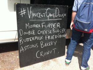 The London Cronut Guide - The Cronut Burger