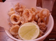 Flesh & Buns - Fried Squid (Japanese Pepper and Lime)