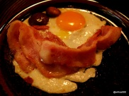 Koya Bar - Bacon, Eggs and Mushrooms, Koya Style