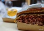 London Burger Bash - Thin bun, thick meat patty
