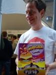London Burger Bash - Burger Gum anyone?