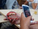 London Burger Bash - Beetroot Burger meets Samsung