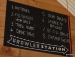 London Burger Bash - Camden Brewery 'Growler Station'