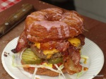 London Cronut Guide - The Cronut Burger from Brockely Market