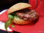 Rentokil Pestaurant - Pigeon Burger without bug garnish