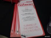 Rentokil Pestaurant - Your menu sir