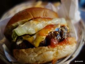 Tommi's Burger Joint - Steak Burger (Rump Steak, Fillet & Aged Ribeye)