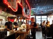 Tommi's Burger Joint - Disco lighting