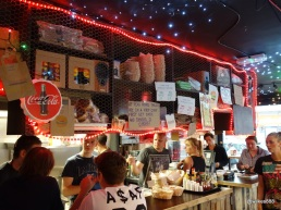 Tommi's Burger Joint - Busy at the counter