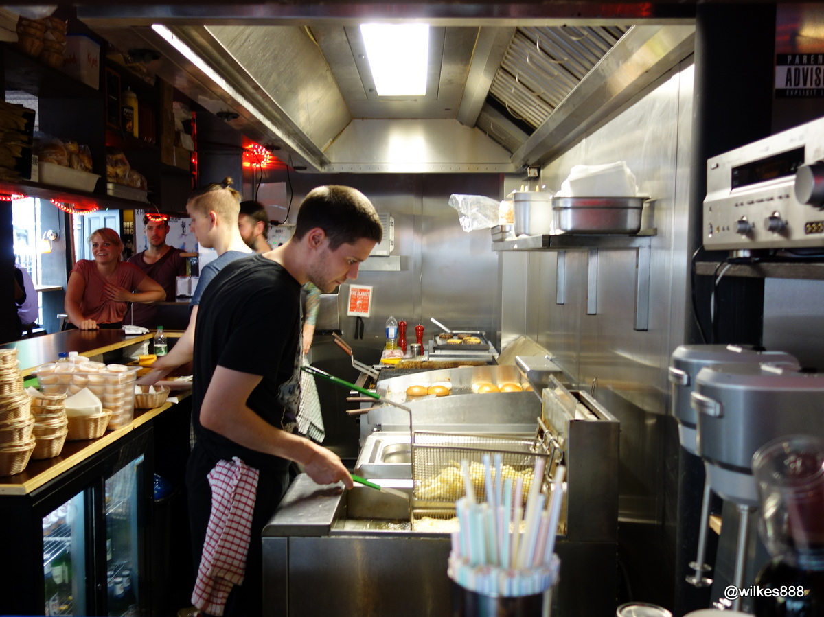 Tommi's Burger Joint – Kitchen   @wilkes888 - London based Food & Drink-o-phile