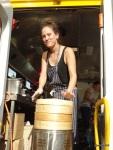 Truck Stop - Lisa (Yum Bun) with her HUGE new food truck