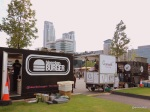Truck Stop - Bleecker, Gurmetti and Spit & Roast getting ready in the Docklands