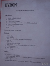 Wholey Cow - How to make a 'Bloody Bull'!