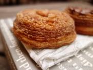 Aubaine Cronut - Cinnamon Cronut close up