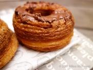 Aubaine Cronut - Nutella Cronut close up