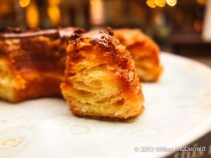 Aubaine Cronut - Cross Section, Nutella Cronut