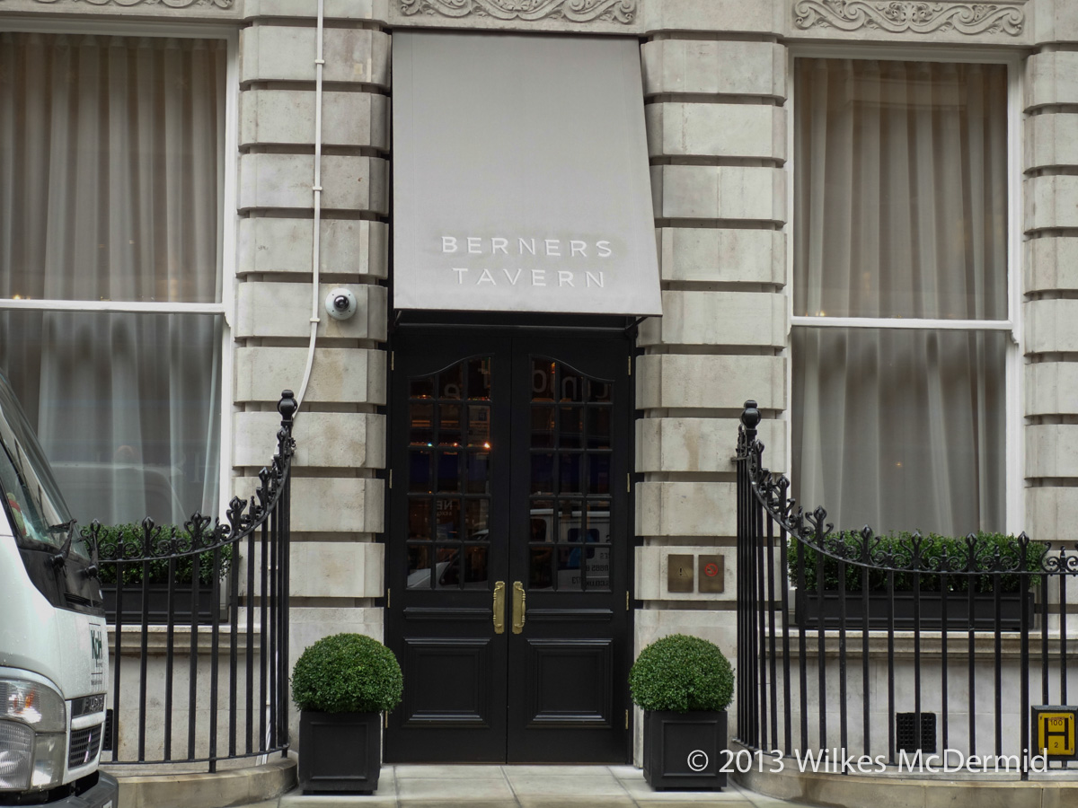 Berners Tavern - Dedicated Entrance