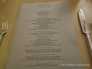 Berners Tavern - Breakfast Menu