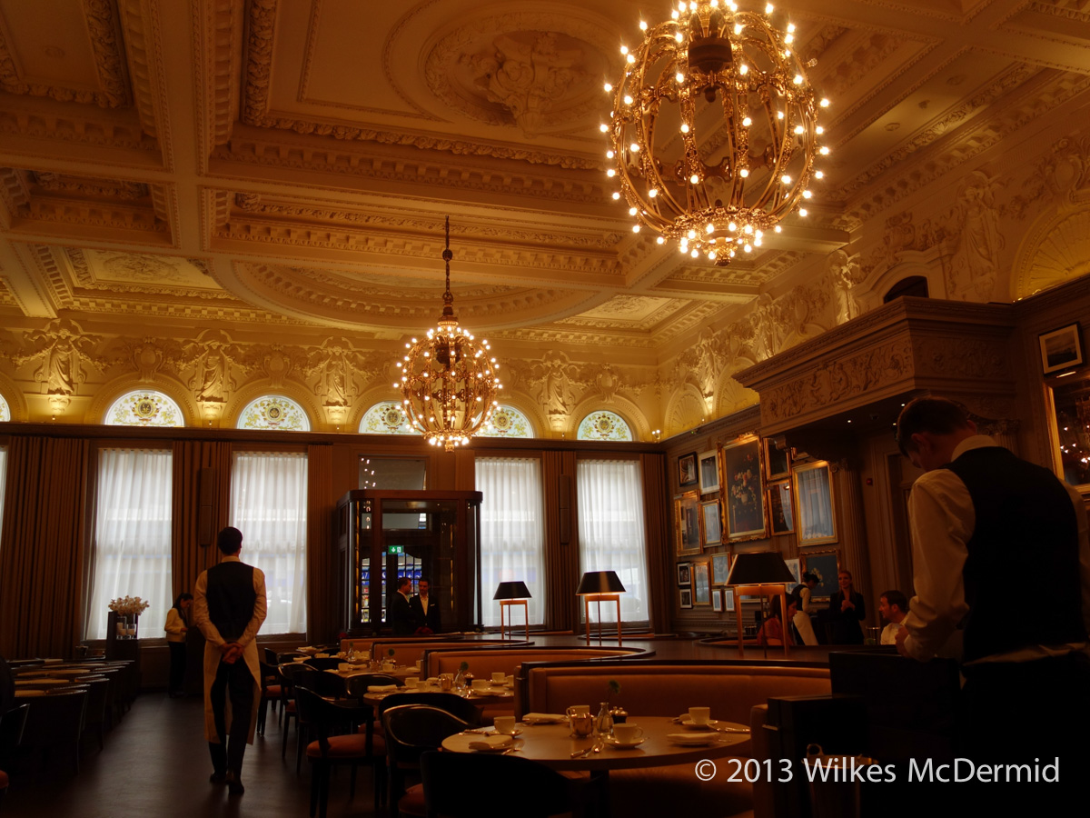 Berners Tavern - Very Wolseley-esque