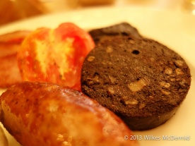 Berners Tavern - Black Pudding including in the Full English Breakfast