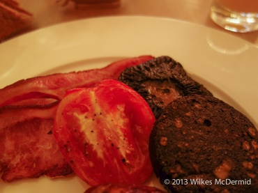 Berners Tavern - Grilled Tomatoes