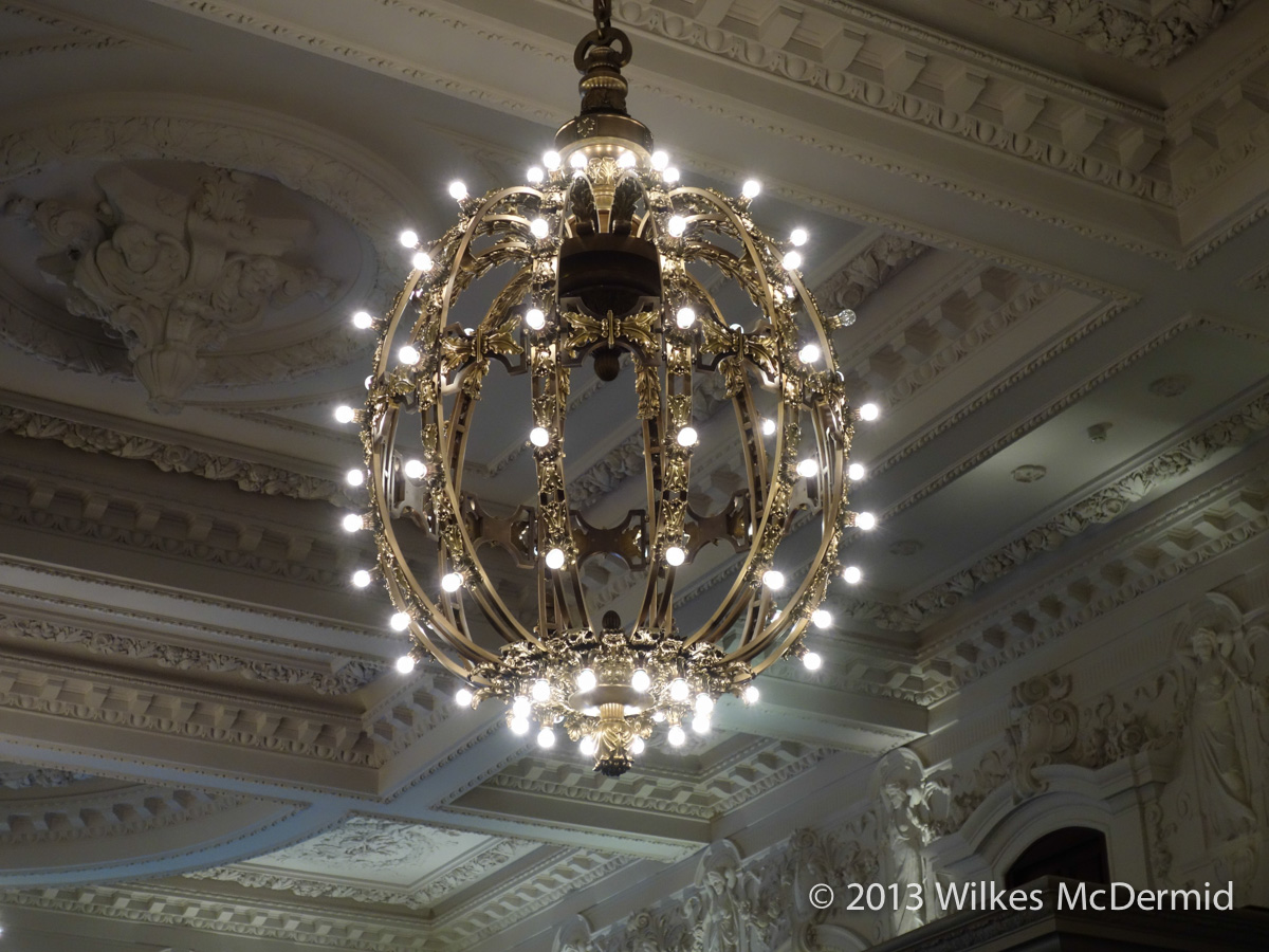 Berners tavern nyc grand central station inspired chandeliers published at 1200 900 aloadofball Gallery