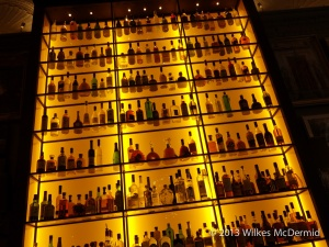 Berners Tavern - Seven stories of back bar