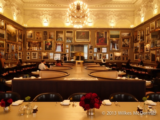 Berners Tavern - Uncluttered table settings