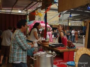 Street Food at Dalston Yard
