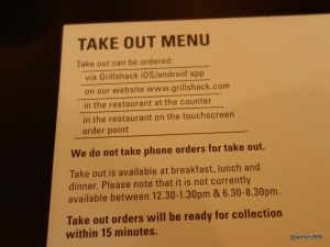 Grillshack - Multiple ways to order
