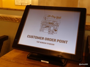 Grillshack - Ordering by touchscreen