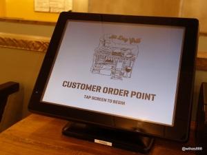 Grillshack - Ordering by touchscreen