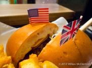 A burger of two halves - US or UK