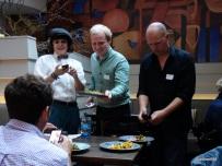 Lima London Restaurant - Making use of overhead light