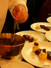 Lima Restaurant London - Plating up in the Kitchen
