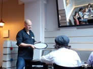 Lima Restaurant London - How to use a reflector disc