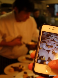 Lima Restaurant London - Picture in picture