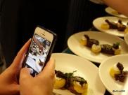 Lima Restaurant London - Low angle shot
