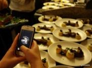 Lima Restaurant London - iPhone Shutter
