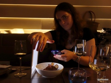 """Lima Restaurant London - The patented """"Wilkes iPad Trick"""""""
