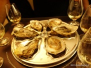 Pearl Dram - Each whisky is paired with a different oyster type