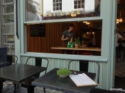 Rosa's Carnaby - Four tables of two outside