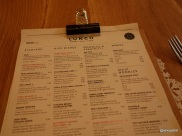 Rosa's Carnaby - The familiar Rosa's menU