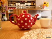 Rosa's Carnaby - Oriental teas served in polka dot pots