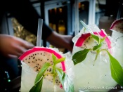 Hutong - Dragon Pearl (Tanqeray 10 Gin, ginger & lemongrass cordial, agave nectar, fresh dragon fruit, anise, basil)