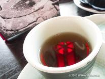 Hutong - Red lanterns in tea