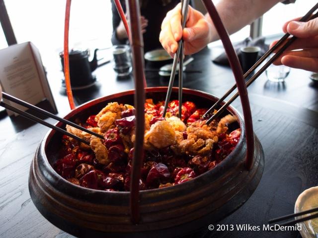 Hutong - Soft shell crabs didn't' last long!