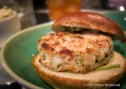 One Canada Square - Shrimp & Scallop Patty