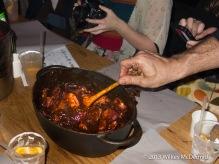 Hawker House - Smokey BBQ Rib Tips with José Cuervo glaze! (From SmokeStak)