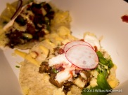 Hawker House - Short Rib Taco (Slow roasted chipotle short rib with bone marrow salsa and pickled habenero
